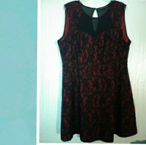 Heartsoul Plus Lacey Dress size 3X